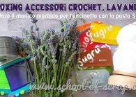 accessori crochet, lavanda, manico morbido per uncinetto fatto con SUGRU
