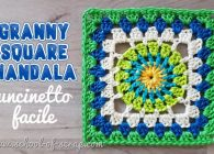 Idee all'uncinetto: granny square Mandala video tutorial + schema