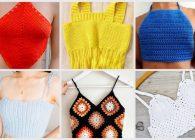 Top all'uncinetto: i modelli più facili e belli per l'estate da copiare subito