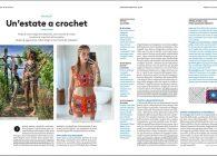 Uncinetto trend dell'estate 2021: il ritorno del crochet è su tutte le riviste e ci sono anch'io