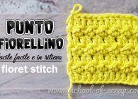 Passione uncinetto: Punto Fiorellino a rilievo Floret stitch crochet
