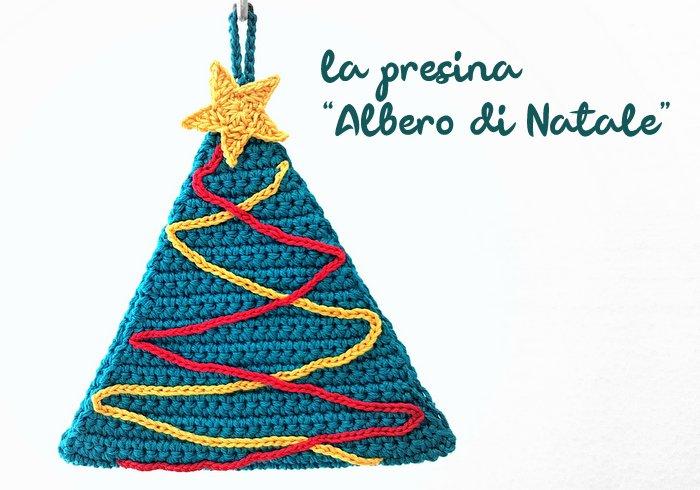 Presina Albero Di Natale Uncinetto.Presina Albero Di Natale Pattern In Italiano In Pdf